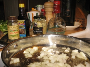 Potato Salad Vinaigrette Ingredients