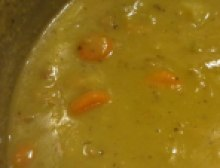 Finished Pea Soup