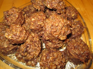 Sunbutter No-Bake Cookies
