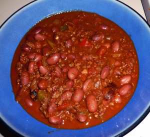 It's Winter, Warm Yourself Up Chili