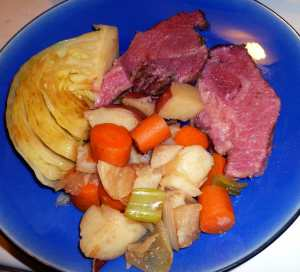Stout Braised Corned Beef and Cabbage