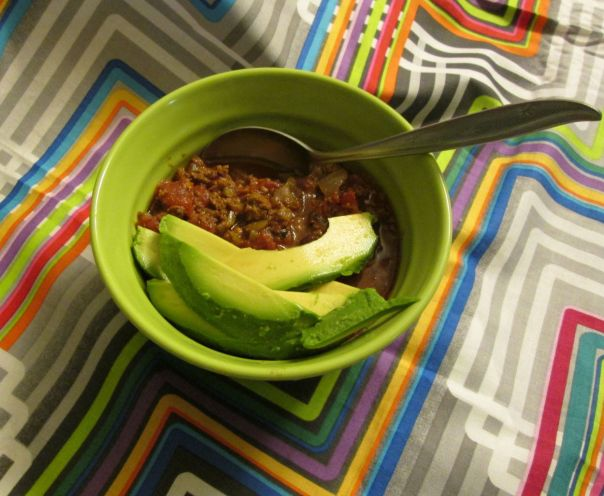 Mmmm, spring chili. Why not?