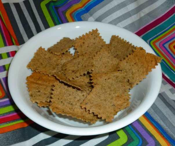Gluten-free Vegan Italian Herb Crackers