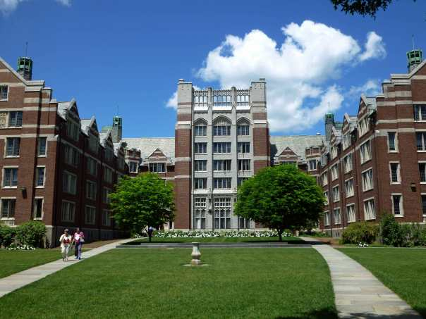 Tower Court at Wellesley College, the dorm that Denise lived in for three years during college