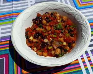 Zesty Mexican Style Bean Salad