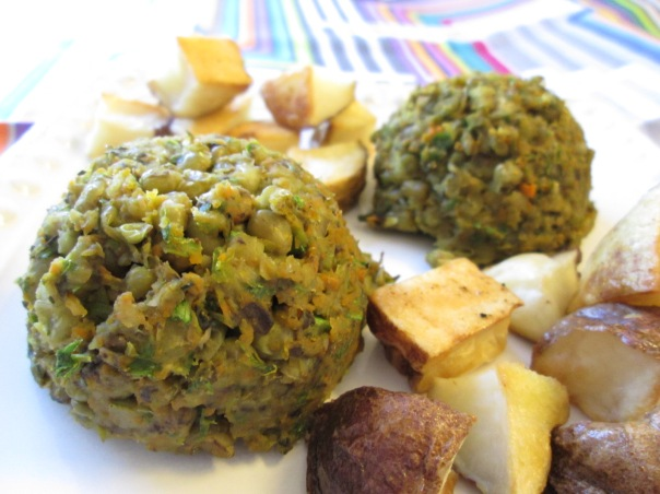 Mung Bean Patties