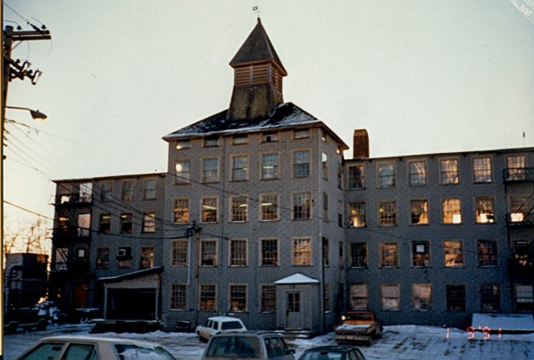 The old button factory, Waldoboro, Maine