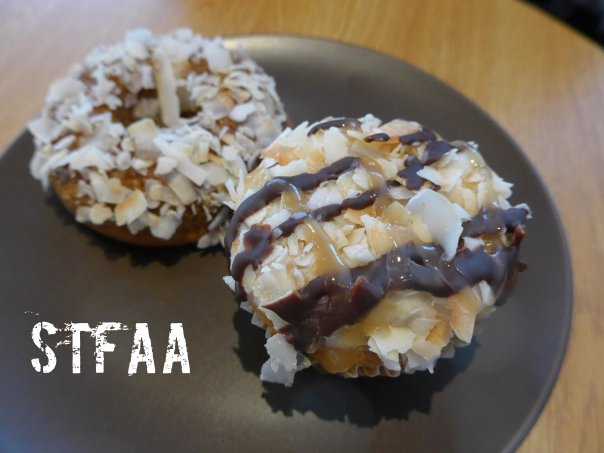 Sweet Freedom's Samoa Cupcake