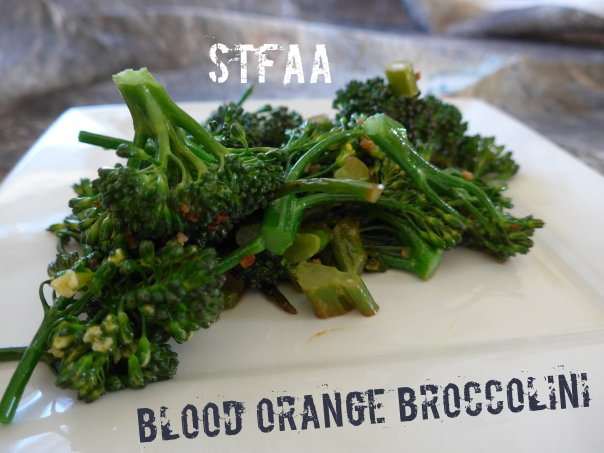 Blood Orange Broccolini