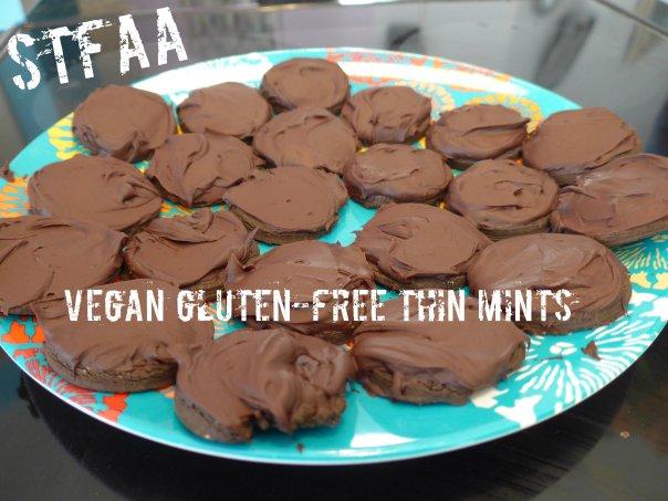 Vegan Gluten-free Thin Mints