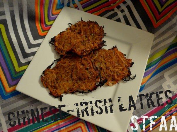 Chinese-Irish Baked Latkes