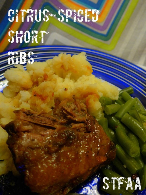 Citrus-spiced Beef Short Ribs