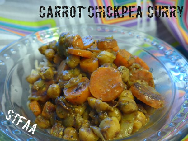 Carrot Chickpea Curry