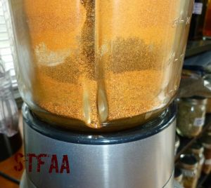 DIY Chili Powder after blending