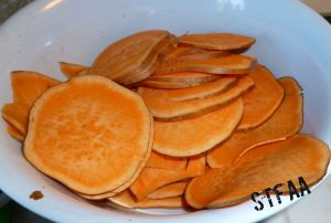 Sweet Potato Slices