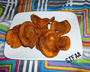Chili Flavored Sweet Potato Chips