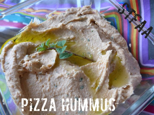 White Bean Pizza Hummus
