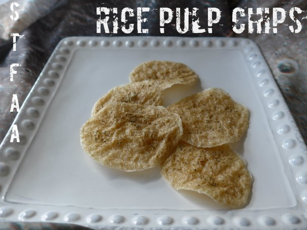 Brown Rice Pulp Chips